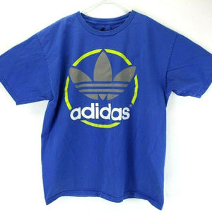 Adidas Mens Retro Short Sleeve Graphic Logo Tee